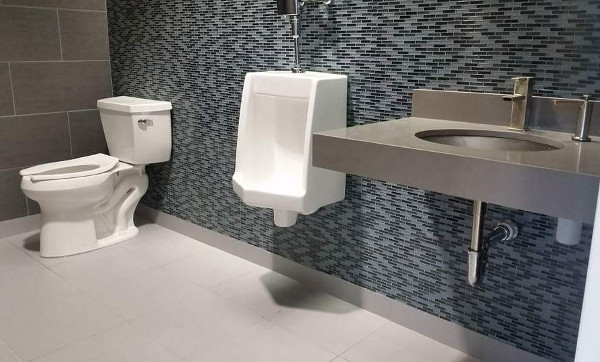 Toilet, Sink and Urinal